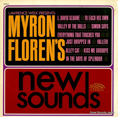 WELK, LAWRENCE myron floren's new sound R8005 - front cover