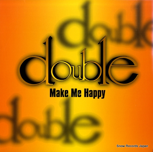 DOUBLE make me happy DBL-0003 - front cover