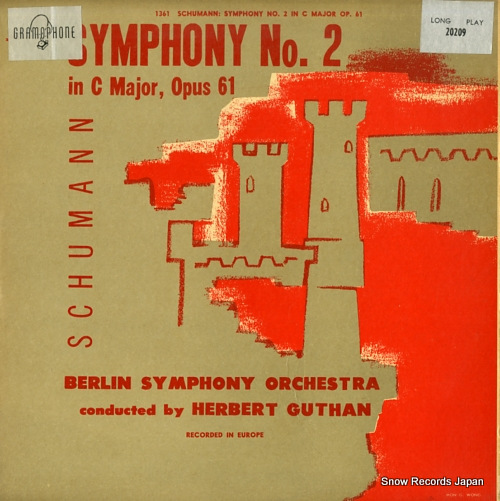 GUTHAN, HERBERT schumann; symphony no.2 in c major, opus 61 20209 - front cover