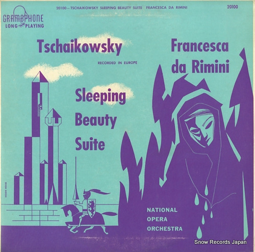 NATIONAL OPERA ORCHESTRA tschaikowsky; sleeping beauty suite GRAMOPHONE20100 - front cover