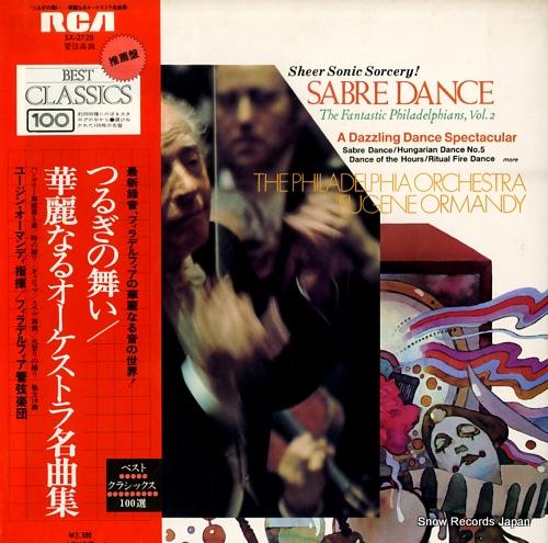 ORMANDY, EUGENE sabre dance the fantastic philadelphians, vol.2 SX-2728 - front cover