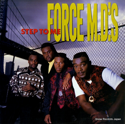FORCE M.D.'S step to me TBLP25893 - front cover
