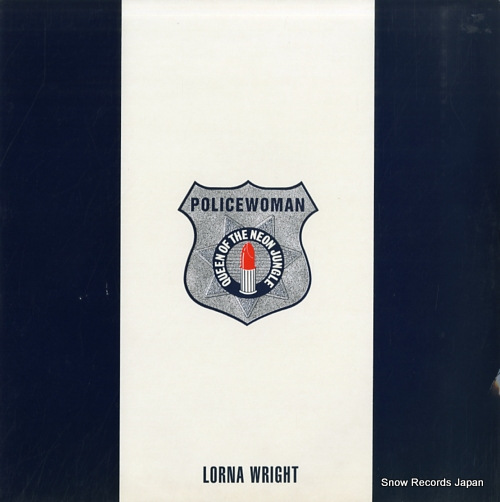 WRIGHT, LORNA policewoman (queen of the neon jungle) MDM1-12 - front cover