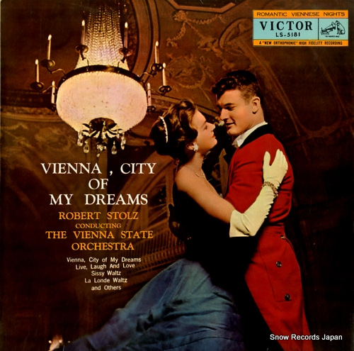 STOLZ, ROBERT vienna, city of my dreams LS-5181 - front cover