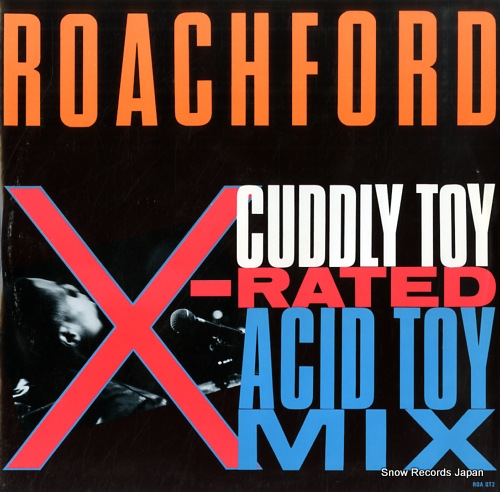 ROACHFORD cuddly toy (x-rated acid toy mix) ROA-QT2 - front cover