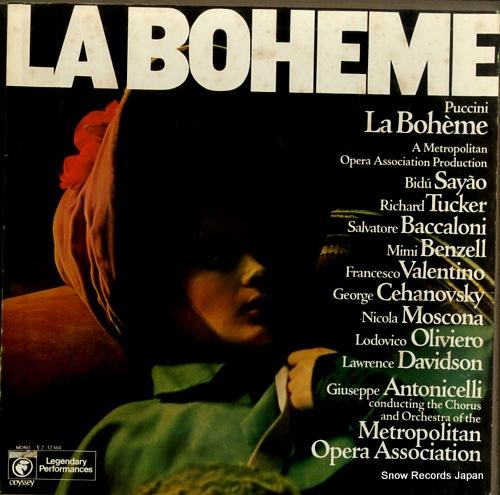 METROPOLITAN OPERA ASSOCIATION puccini; la boheme Y232364 - front cover