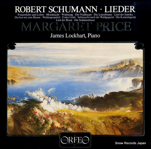 PRICE, MARGARET schumann. lieder. songs S031821A - front cover