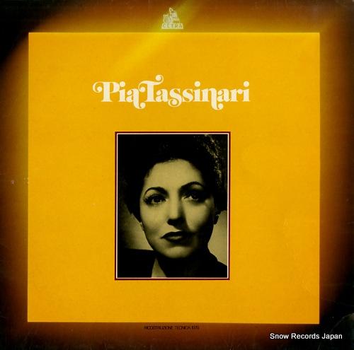 TASSINARI, PIA pia tassinari LPO2036 - front cover