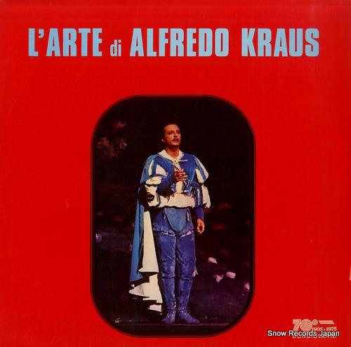 KRAUS, ALFREDO l'arte di alfredo kraus GB507 - front cover