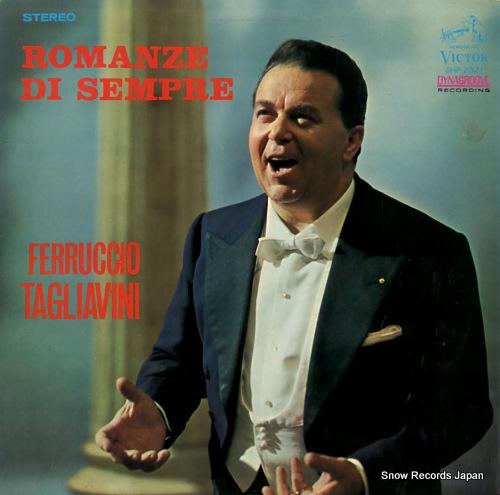 TAGLIAVINI, FERRUCCIO romanze di sempre SHP-2371 - front cover