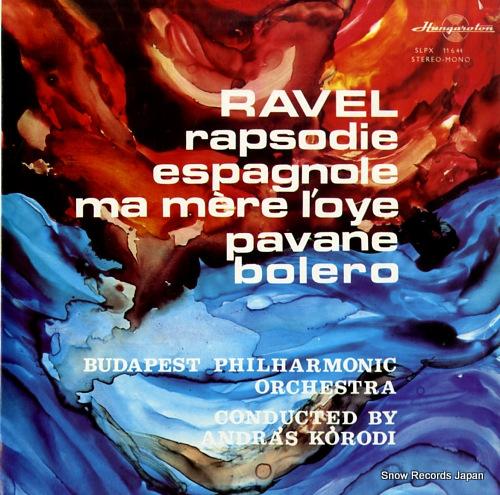 KORODI, ANDRAS ravel; rapsodie espagnole SLPX11644 - front cover