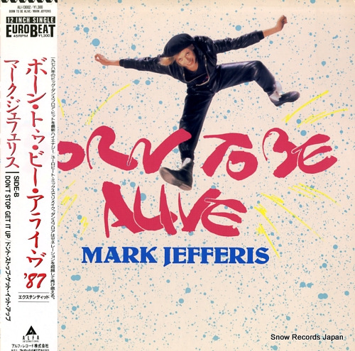 JEFFERIES, MARK born to be alive ALI-13002 - front cover