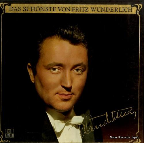 WUNDERLICH, FRITZ das schonste von fritz wunderlich 301762-420 - front cover