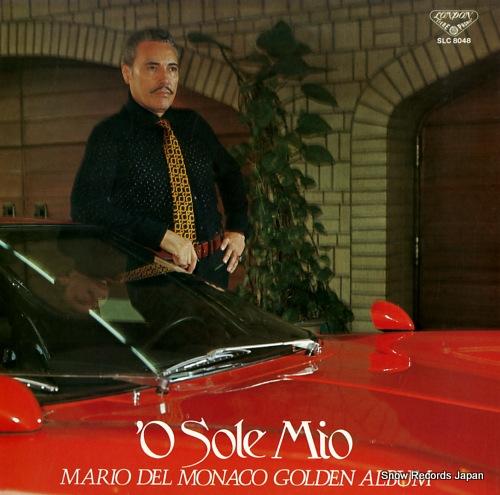 MONACO, MARIO DEL 'o sole mio(del monaco golden album) SLC8048 - front cover