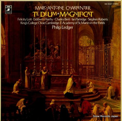LEDGER, PHILIP marc-antoine charpentier; te deum, magnificat EAC-80457 - front cover