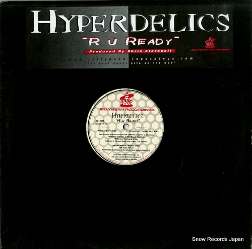 HYPERDELICS r u ready JEL2565 - front cover