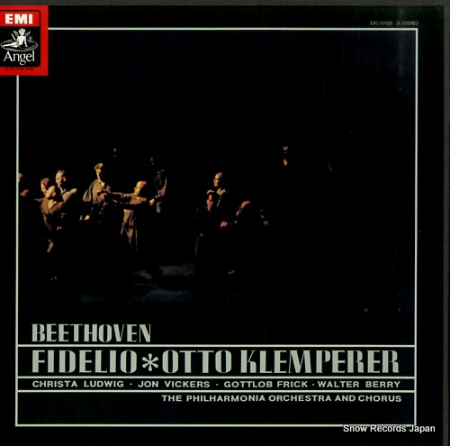 KLEMPERER, OTTO beethoven; fidelio EAC-57029-31 - front cover