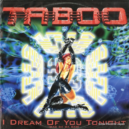 TABOO i dream of you tonight (bab ba ba bab) DANSAMP-2384-6 - front cover