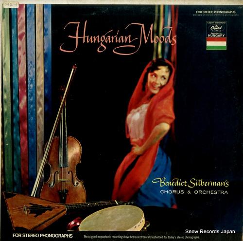SILBERMAN, BENEDICT hugarian moods T10107 - front cover