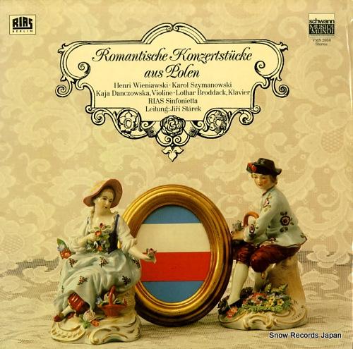 STAREK, JIRI romantische konzsertstucke aus polen VMS2058 - front cover