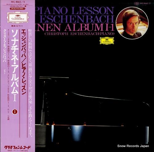 ESCHENBACH, CHRISTOPH a piano lesson with eschenbach sonatinen album 1 MG8662/3 - front cover