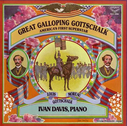 DAVIS, IVAN great galloping gottschalk SLA1094 - front cover