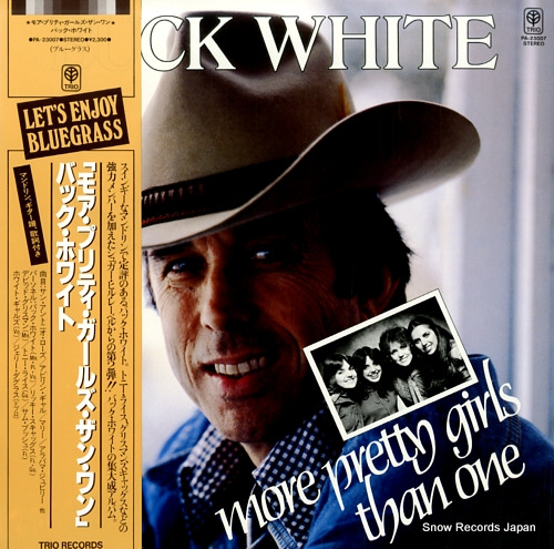 WHITE, BUCK more pretty girls than one PA-23007 - front cover