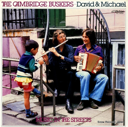 CAMBRIDGE BUSKERS, THE music in the streets VIC-28008 - front cover