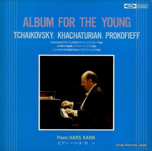 KANN, HANS album for the young TS-50013 - front cover