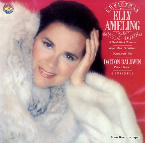 AMELING, ELLY ameling christmas album 25AC1172 - front cover