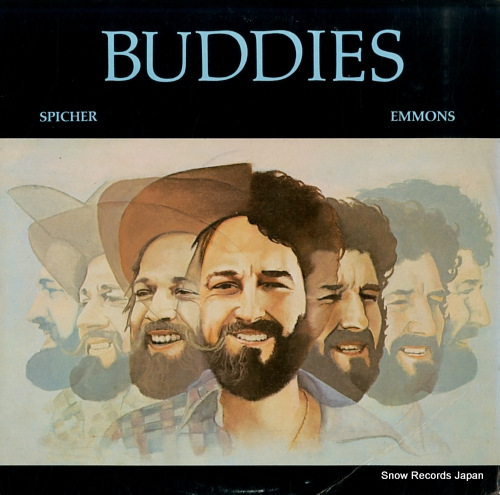 SPICHER, BUDDY, AND BUDDY EMMONS buddies FLYINGFISH041 - front cover