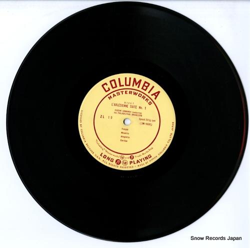 ORMANDY, EUGENE bizet; l'arlesienne suite no.1, no.2 ZL-19 - disc