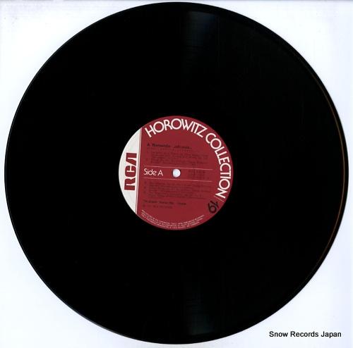 HOROWITZ, VLADIMIR a romantic collection RVC-1519 - disc