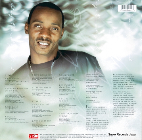 SANCHEZ stays on my mind VPRL1636 - back cover