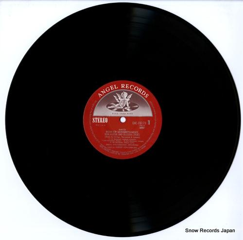 KARAJAN, HERBERT VON bartok; musik fur saiteninstrumente, schlagzeug und celesta (1936~ EAC-70179 - disc