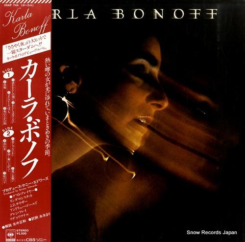 BONOFF, KARLA karla bonoff 25AP744 - front cover