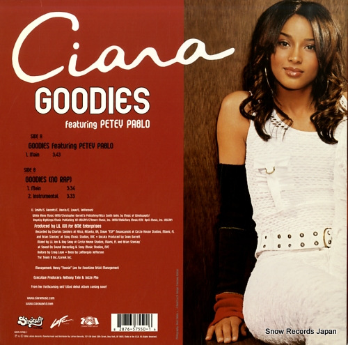 CIARA goodies 82876-57550 - back cover
