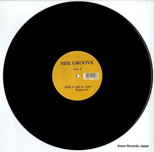 DJ ALONE mix groove vol.5 SIA11 - disc