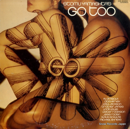 YAMASHITA, STOMU go too IES-80891 - front cover
