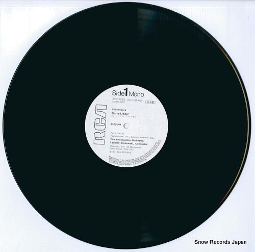 STOKOWSKI, LEOPOLD schoenberg; gurre-lieder RVC-7562-63 - disc