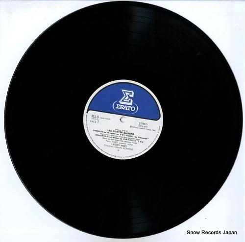 SCIMONE, CLAUDIO vivaldi; les quatre saisons REL-8 - disc