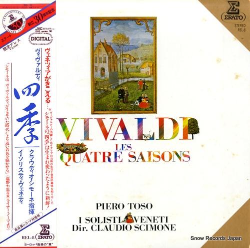 SCIMONE, CLAUDIO vivaldi; les quatre saisons REL-8 - front cover