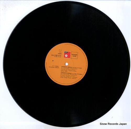 COLLEGIUM AUREUM handel; 12 concerti grossi, op.6 (3) ULX-3212-H - disc