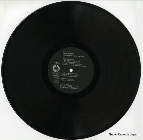 SCHREIER, PETER italienische opernarien von mozart ET-3006 - disc
