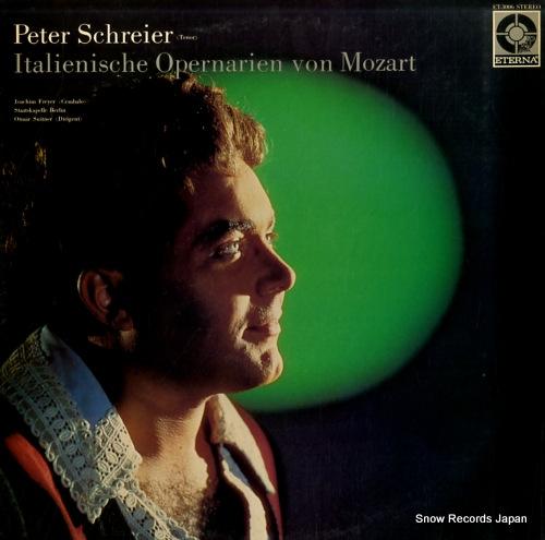 SCHREIER, PETER italienische opernarien von mozart ET-3006 - front cover