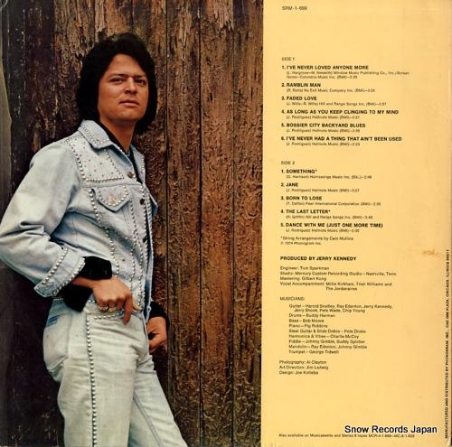 RODRIGUEZ, JOHNNY my third album SRM-1-699 - back cover