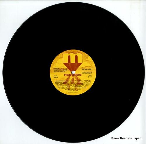 ROSEN LINDGREN BAND green rose rag MLPH1257 - disc