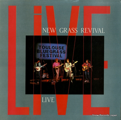 NEW GRASS REVIVAL live ADA1010 - front cover