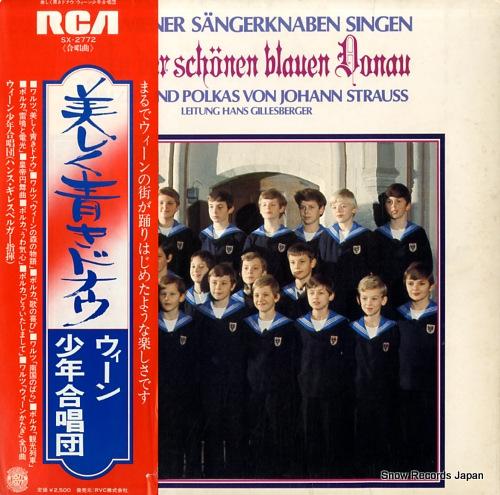 WIENER SANGERKNABEN an der schonen blauen donau SX-2772 - front cover