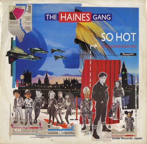 HAINES GANG, THE so hot LONX34 - front cover